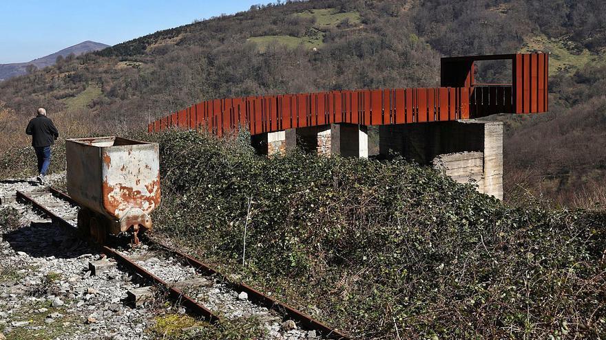 La descontaminación de Texeo, primer paso para el parque turístico de Riosa