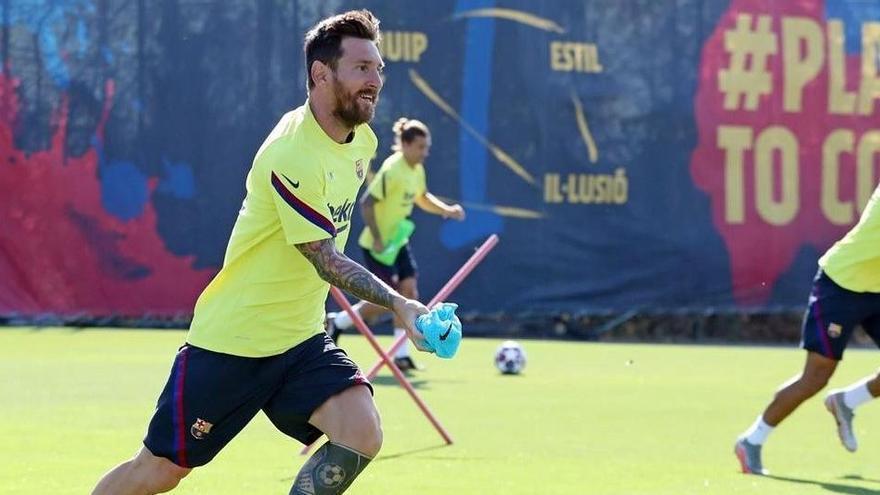 El reto de Messi: llevar al Barça a la fase final de Lisboa