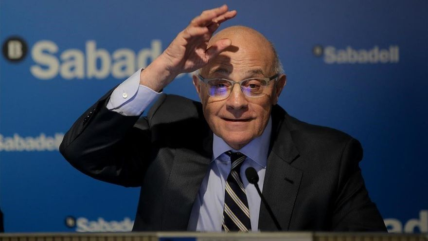 El beneficio del Banco Sabadell cae el 99% tras realizar provisiones de 2.275 millones de euros