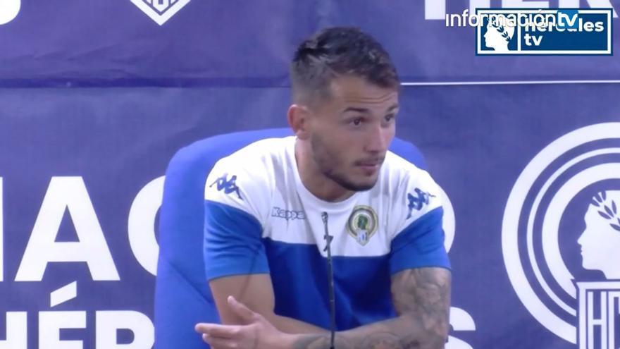 Borja Martínez reconoce que el partido en Villarreal es decisivo