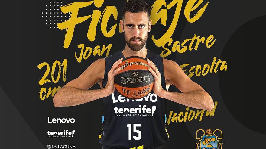 Joan Sastre ficha por el Lenovo Tenerife