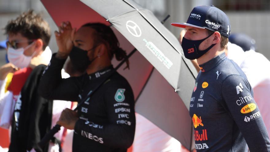 Verstappen se despacha contra Hamilton tras el accidente de Silverstone