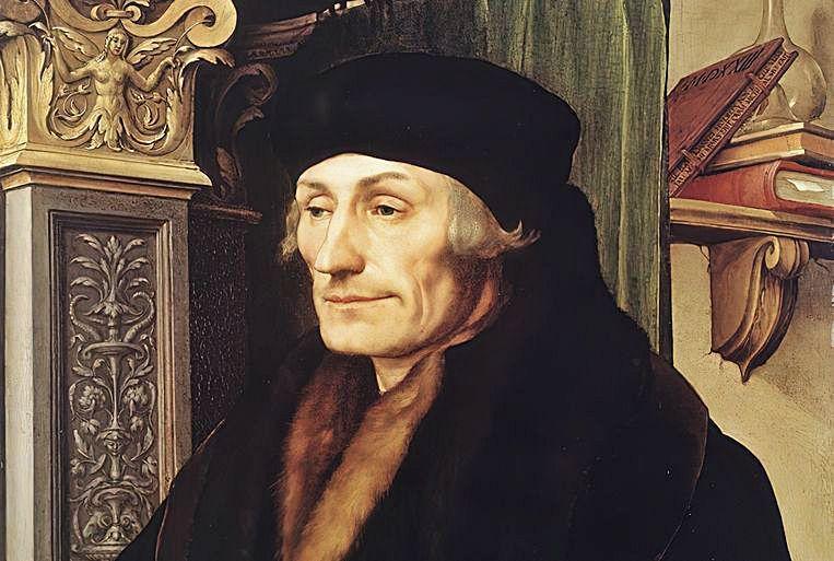 Erasmus van Rotterdam (1466-1536).