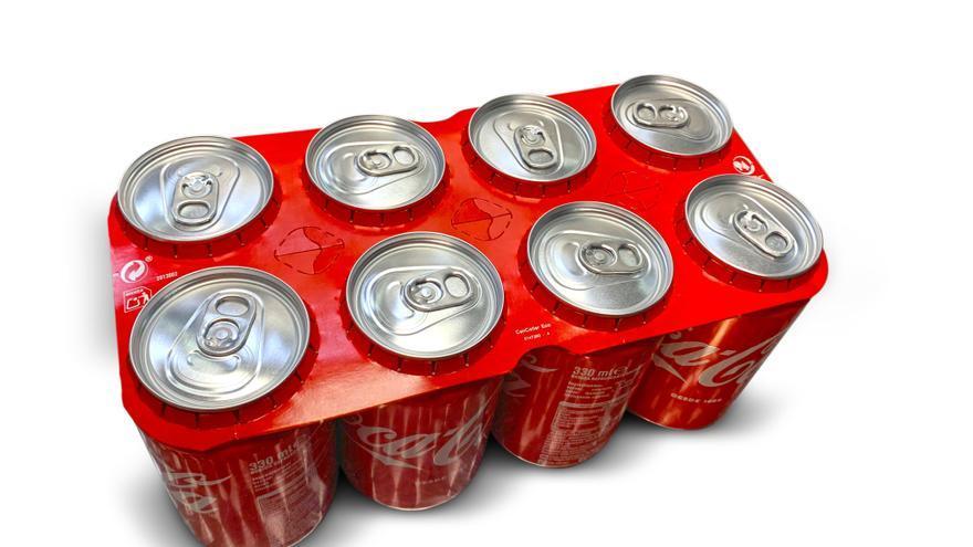 Coca-Cola comienza la producción de latas con agrupadores de cartón a través de la tecnología CanCollar®