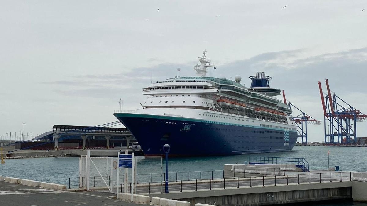 El buque Sovereign de Pullmantu