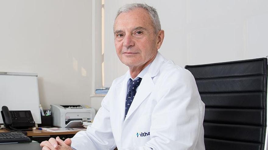 Doctor Bartolomé Lloret, urólogo del Hospital Vithas Medimar Alicante