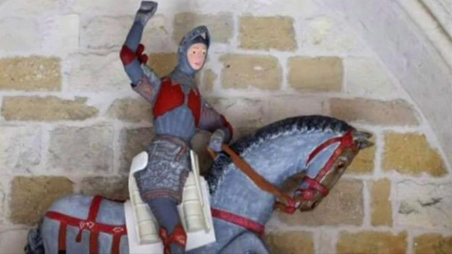 ¿Un 'Ecce Homo' a la Navarra? La polémica restauración del San Jorge de Estella