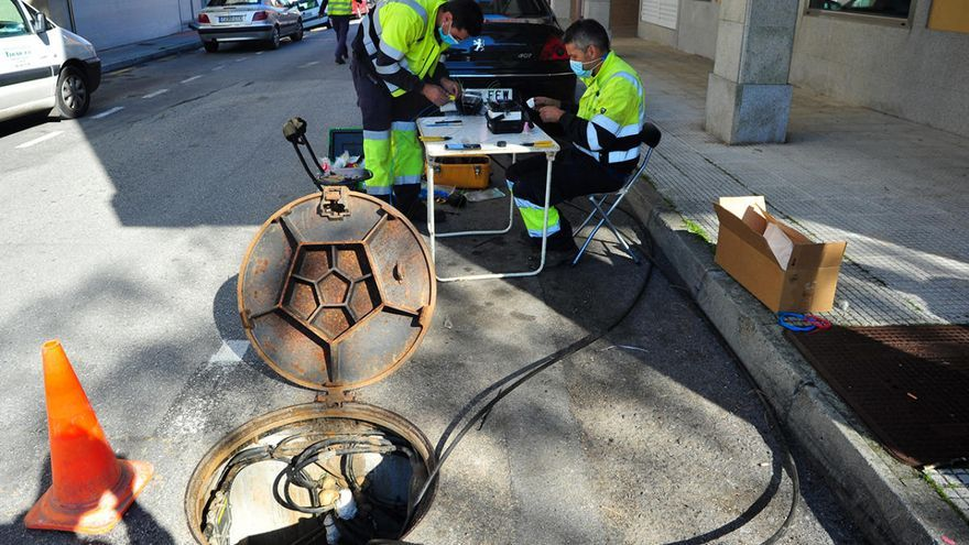Las ratas de Vilagarcía devoran la fibra óptica de R