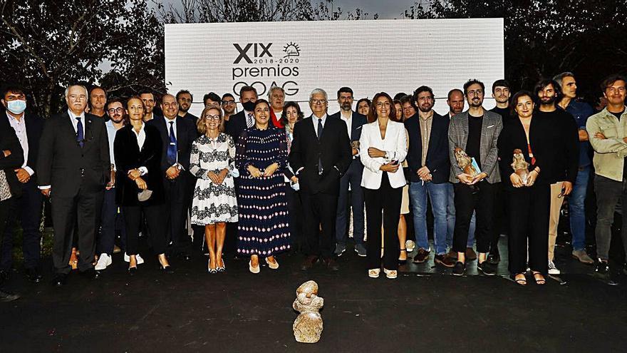 El Colegio de Arquitectos de Galicia premia al estadio de A Gandareira