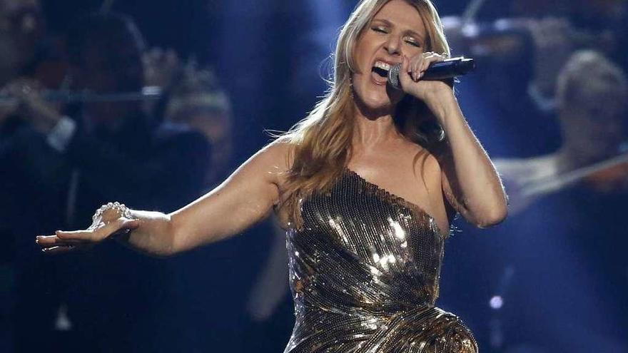 Céline Dion presume de novio