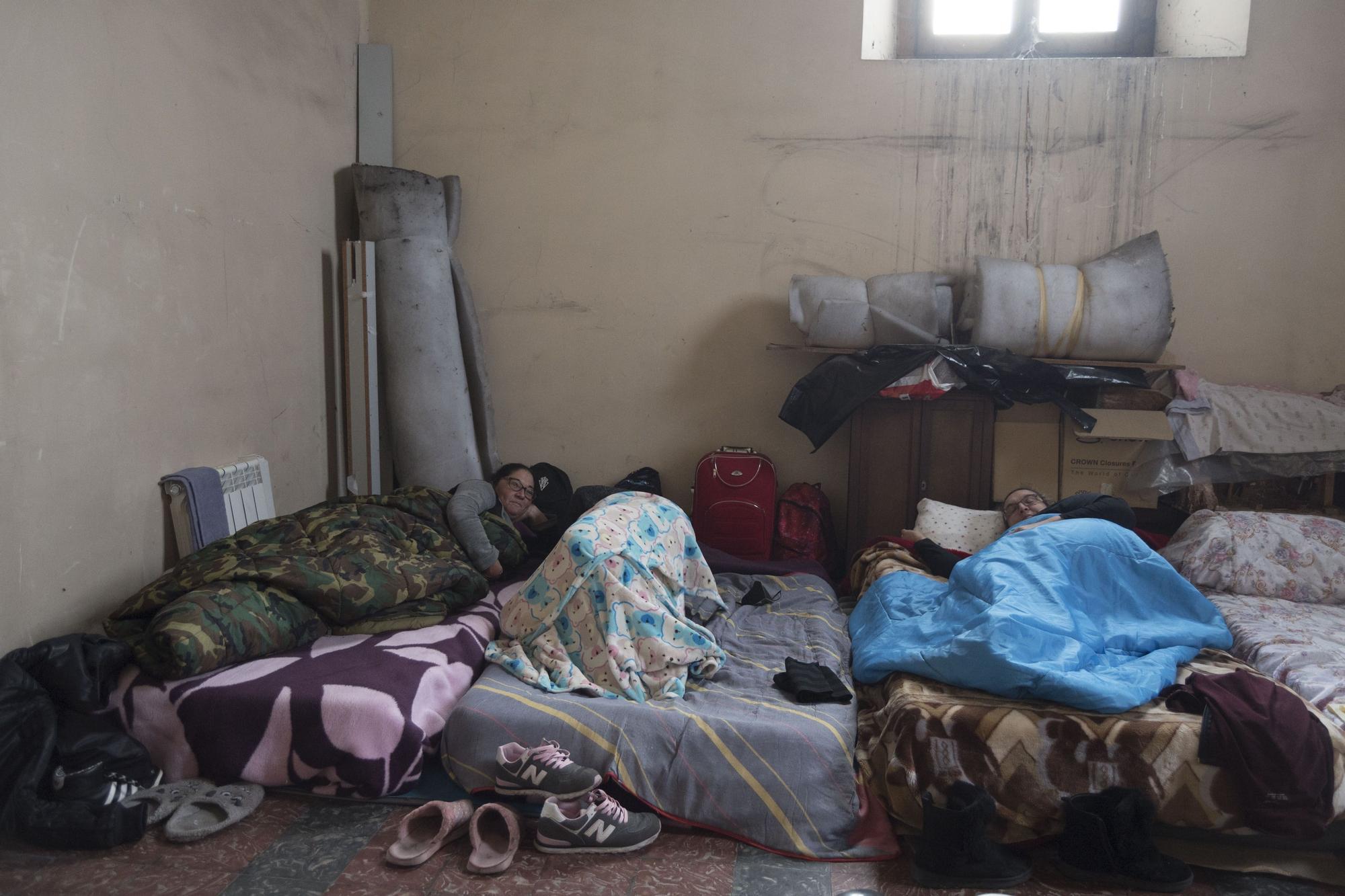 Hosteleros encerrados en Mieres