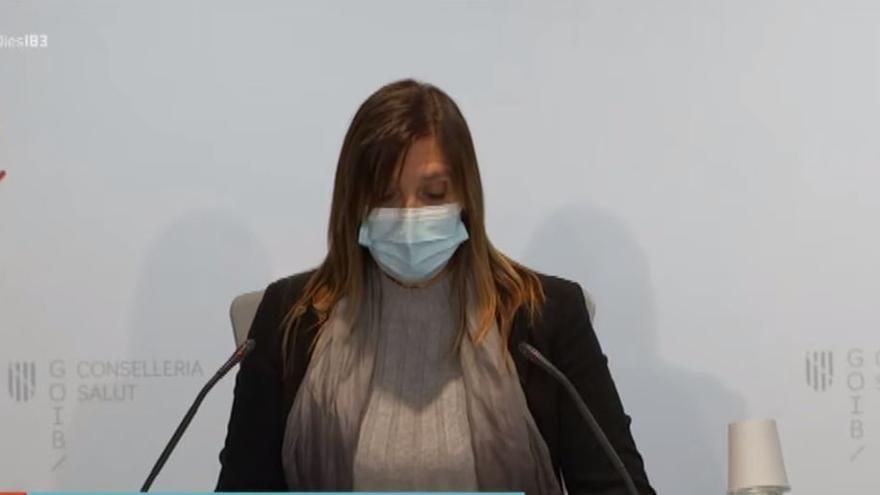 En directo   Maria Antònia Font informa sobre la evolución de la campaña de la gripe en Baleares