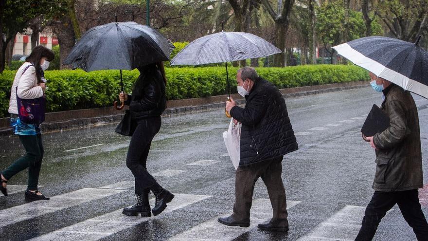 El tiempo en València: lluvias intensas y generalizadas para este martes