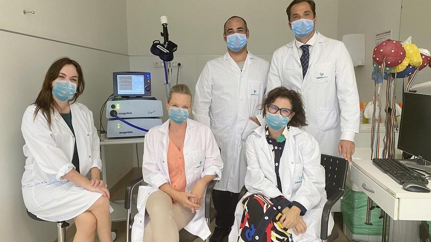 Quirónsalud incorpora una técnica para recuperar a pacientes con trastornos del sistema nervioso