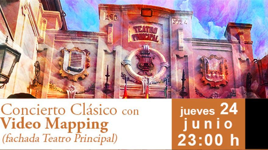 Concierto Clásico con video mapping