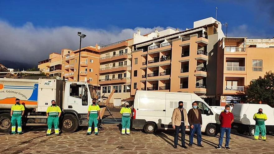 Un contrato de emergencia para aumentar los efectivos de limpieza