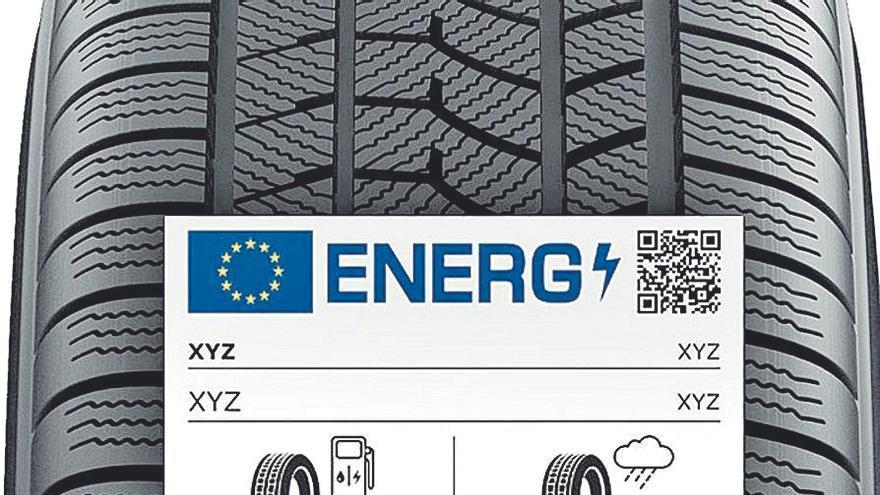 El nuevo etiquetado de los neumáticos