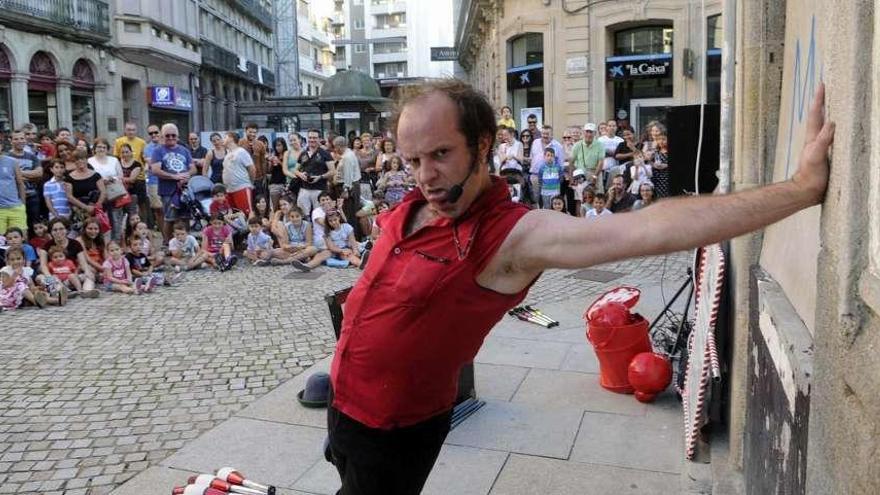 El Festiclown vuelve a las calles de Vilagarcía el día 9