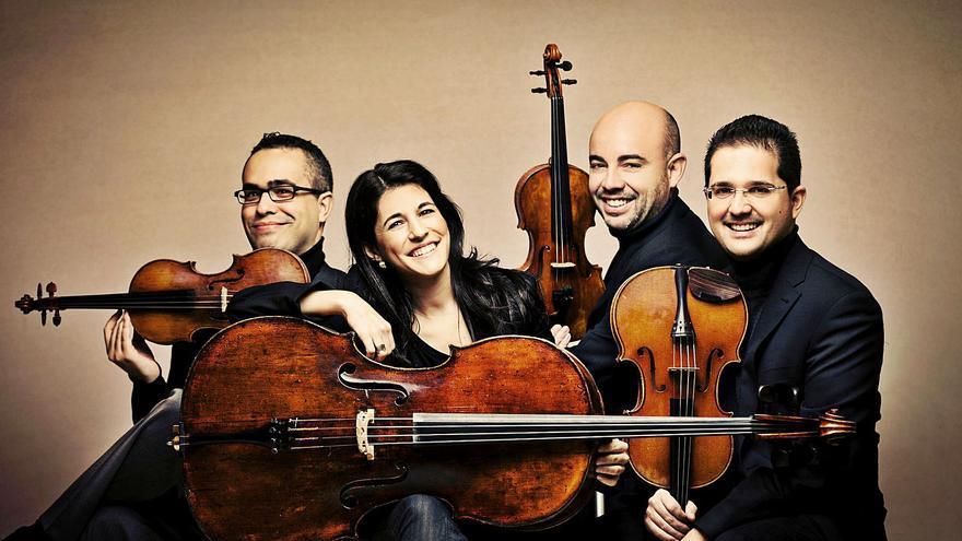 Cuarteto Quiroga: «Beethoven estaría hoy en una comuna en Berlín experimentando con electrónica»