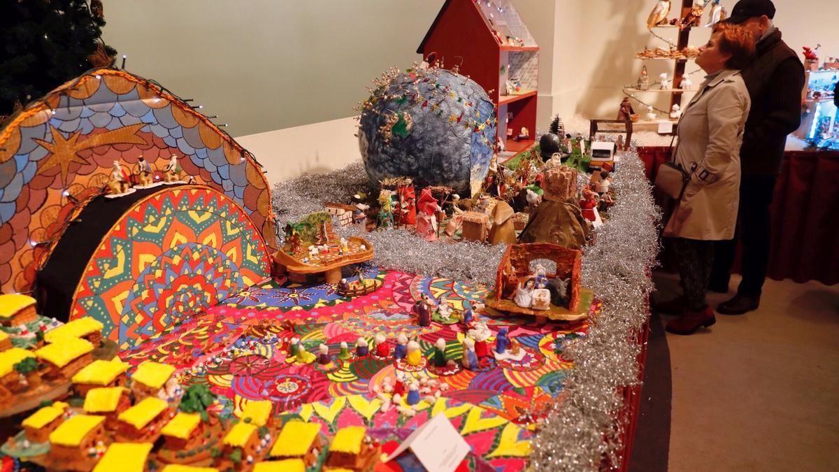 Exposición del Concurso de Belenes durante la Navidad en Vigo 2019