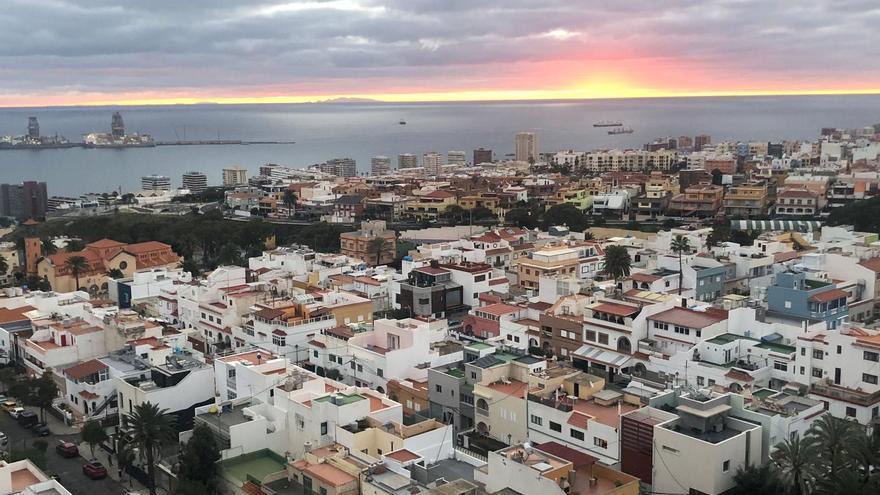 Intervalos nubosos y posibles lluvias débiles en Gran Canaria este miércoles