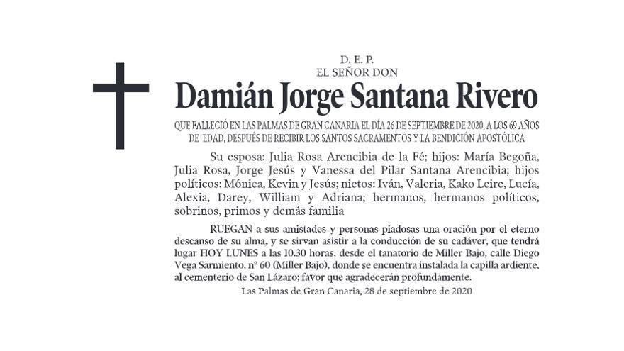 Damián Jorge Santana Rivero