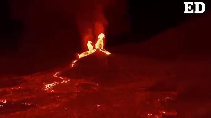 Una erupción de alta tecnología en La Palma