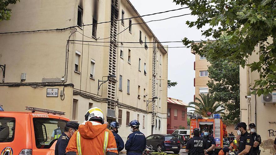 Detenido por el incendio en el que murió un hombre en Algemesí