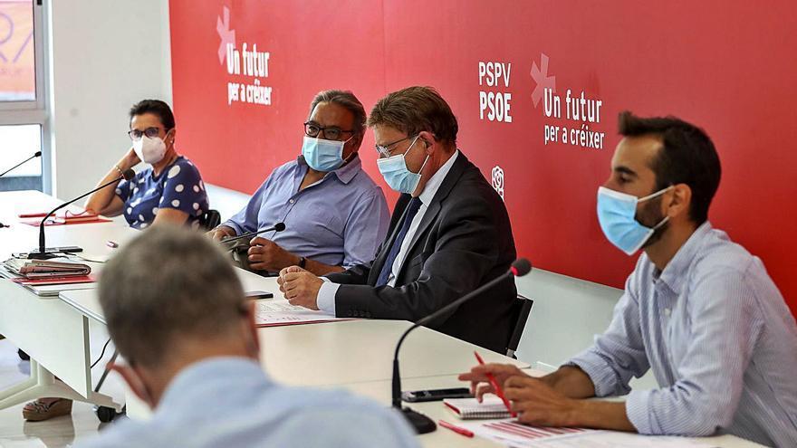 El PSPV se allana el camino para un congreso de consenso pero Soler echa un pulso a Franco en Alicante