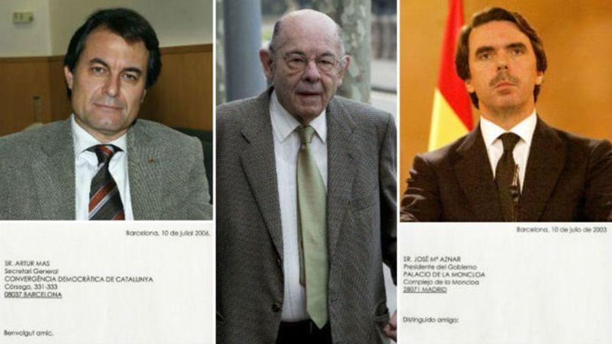 Cuando Millet invitaba a Mas y Aznar a su casa de Menorca