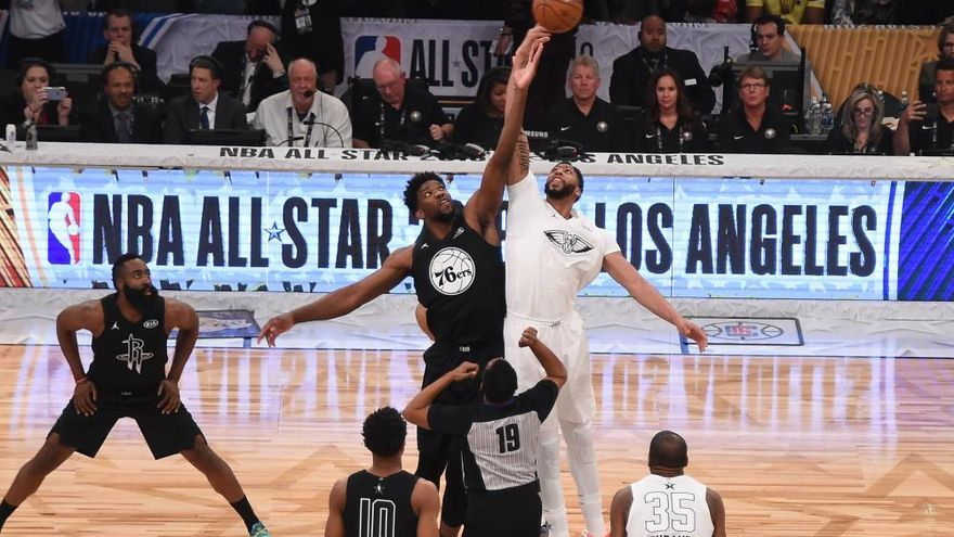 LeBron James le gana la partida a Curry en el All Star
