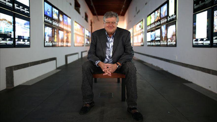 Fallece Alberto Delgado, presidente de la Fundacion CajaCanarias
