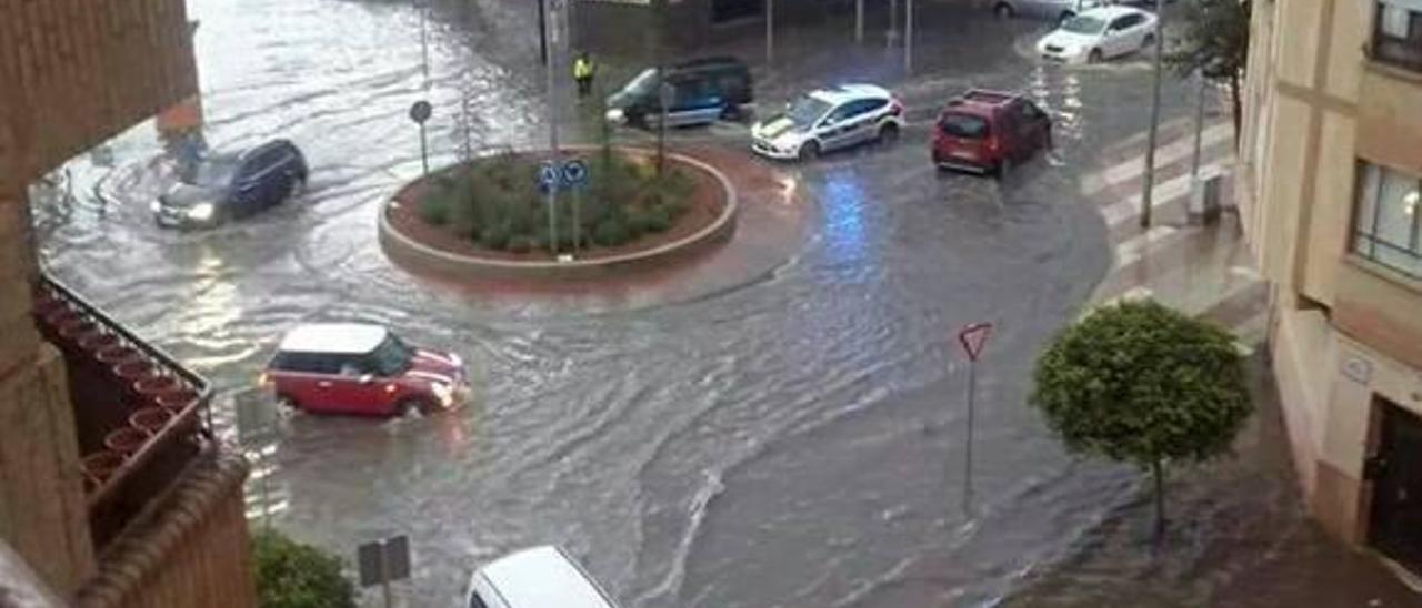 La Aemet decreta para hoy la alerta amarilla en Castelló por fuertes lluvias