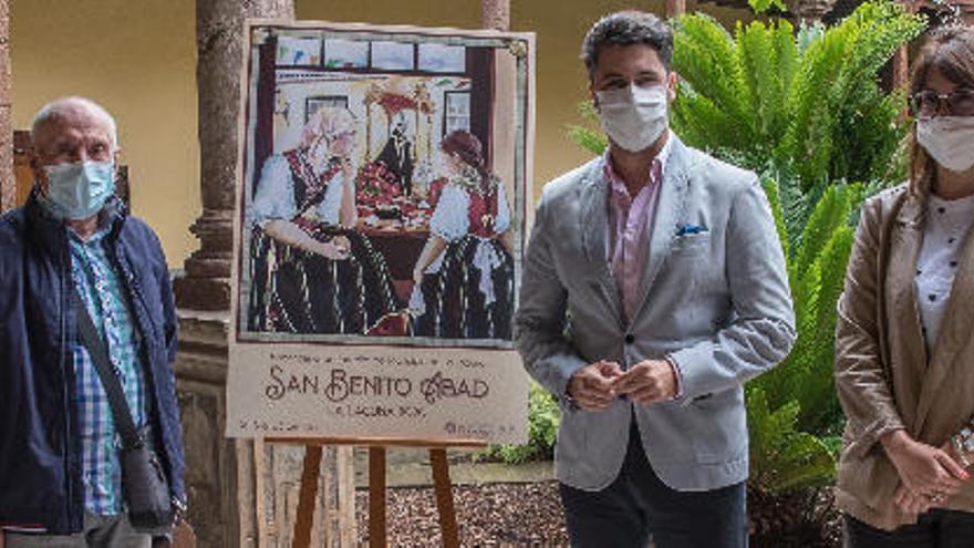 San Benito se celebra sin romería y con varios actos simbólicos