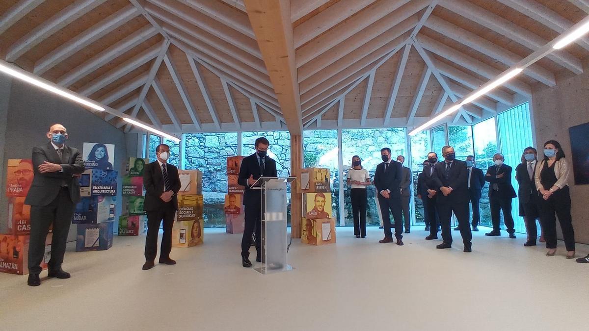 Inauguración de la sede en O Berbés.