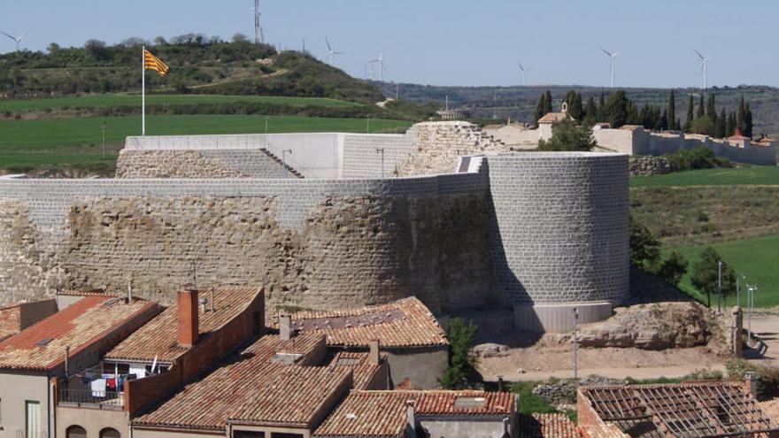 El ministeri de Foment rebaixa a la meitat la factura a Calaf per la intervenció al castell