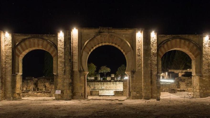 Las visitas nocturnas de Medina Azahara suben un 29% con respecto a 2018