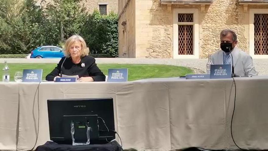 Isabel Suqué dedica l'edició del Festival de Peralada al seu pare