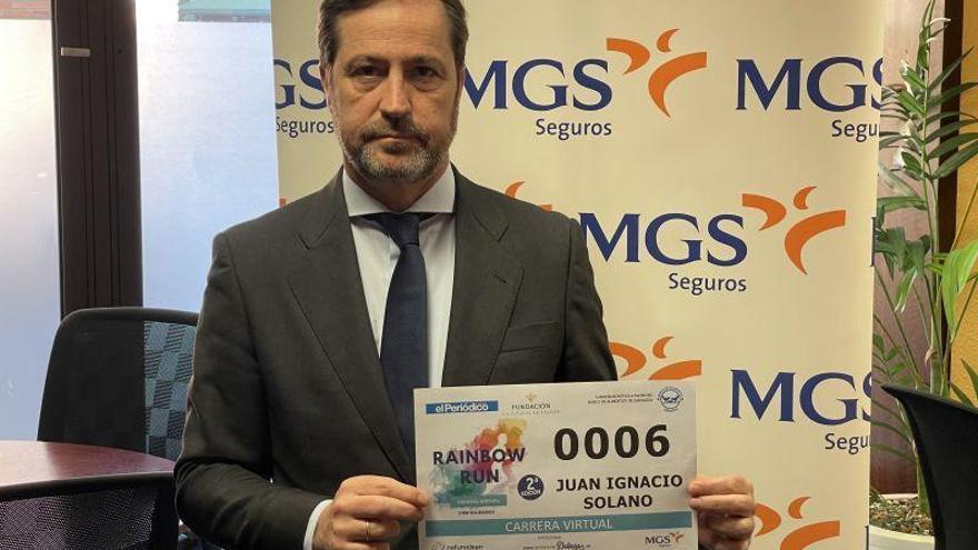 """Juan Ignacio Solano: """"Necesitamos más iniciativas de esta índole que combinen solidaridad y deporte"""""""
