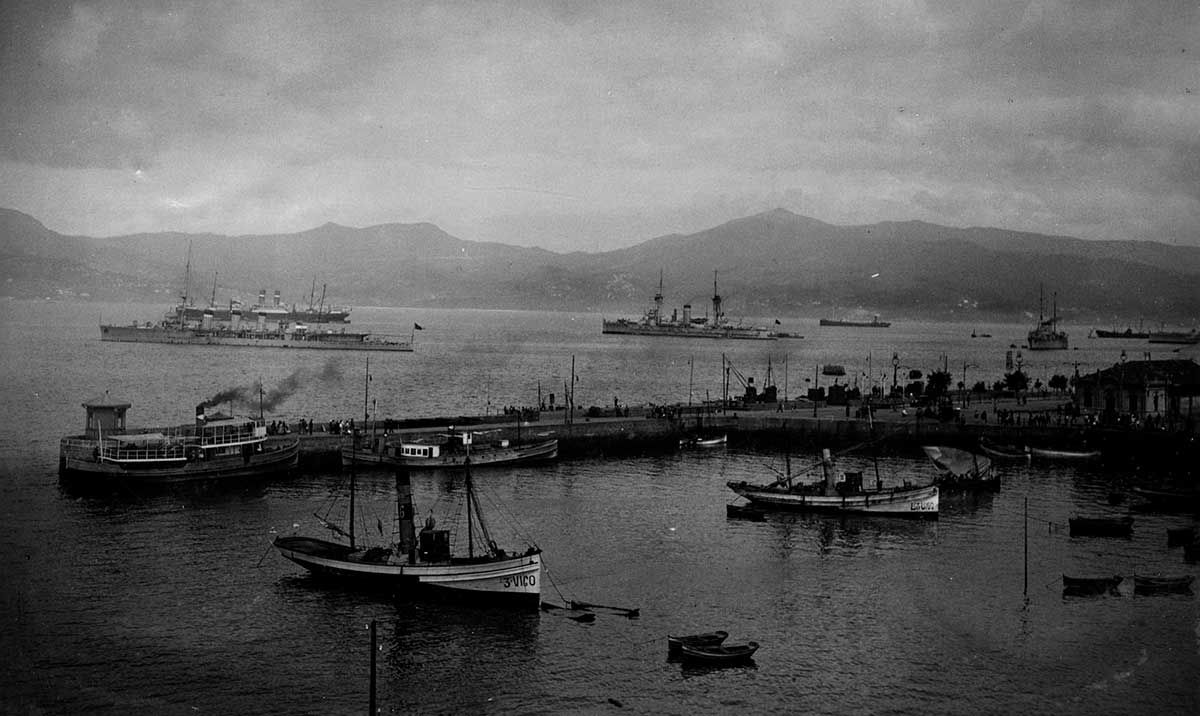 Vista del Puerto 1920 -1936