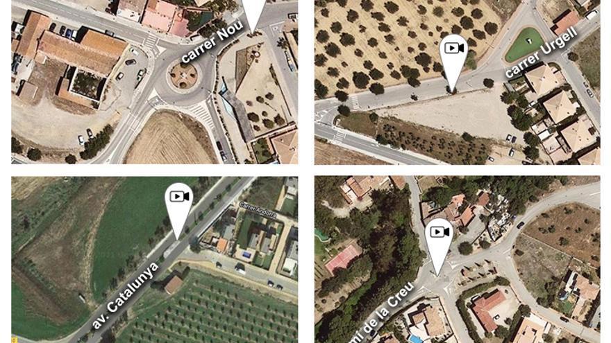 Palau-saverdera posarà càmeres lectores de matrícules a la via pública