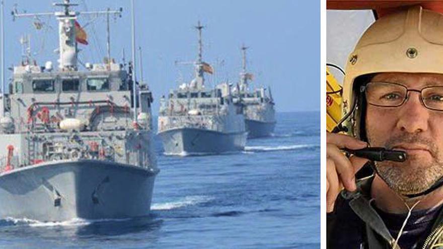 La Armada busca al avión y el piloto antiincendios desaparecidos en Mallorca