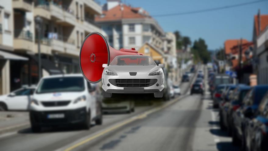 El ruido de la carretera, un dolor para más de cien mil gallegos