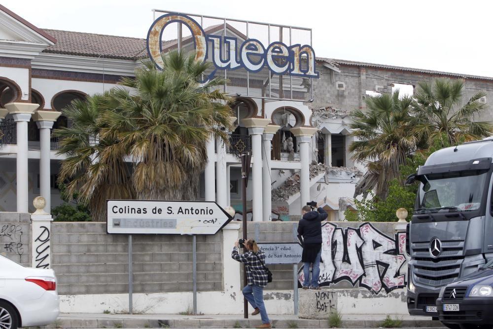 Derriban la mítica discoteca Arabesco para levantar un gran supermercado