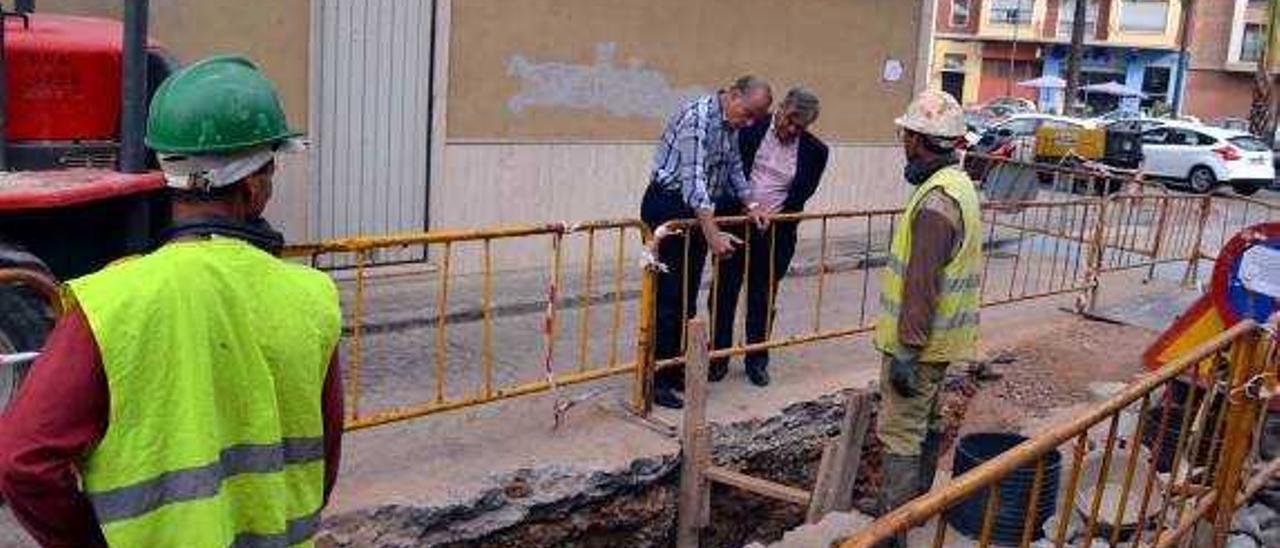 Facsa retoma en verano las obras de renovación de la red de agua en Borriana
