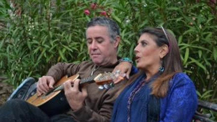 Luisa Machado y Alberto Méndez