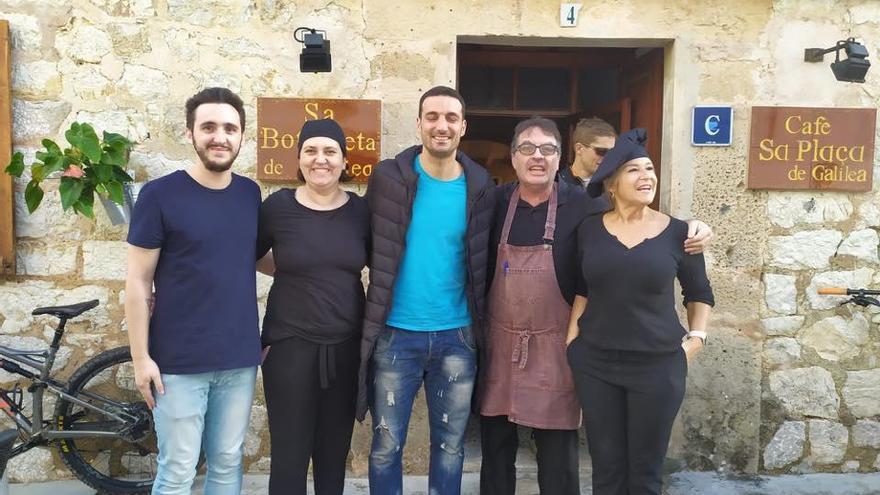 Scaloni come 'arròs brut' en Galilea mientras espera a Messi