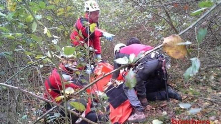 Troben mort un boletaire perdut a Viladrau