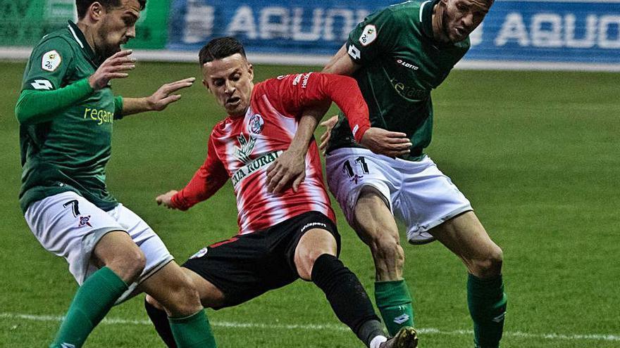 Pedro Astray fue titular y Delmonte, el único de los nuevos jugadores del Zamora CF que no debutó ante el Racing de Ferrol