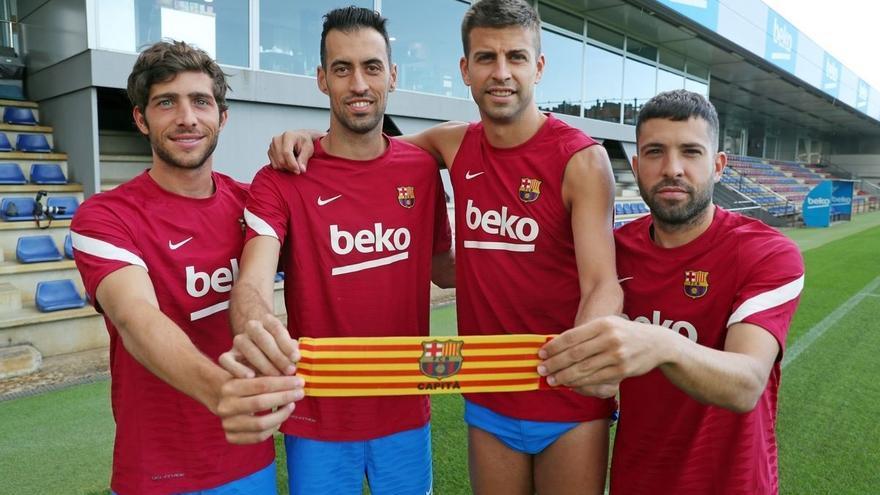 Sergio Busquets i Jordi Alba signen una rebaixa de sou seguint els passos de Piqué